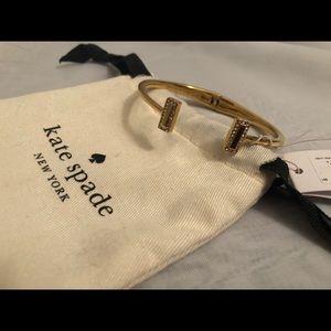 Gold Hinge Kate Spade Bracelet